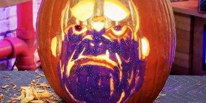 Thanos: ecco come scolpire una zucca di Halloween a forma di Titano Pazzo