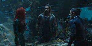 Aquaman: Arthur, Mera e Vulko nella prima clip del film di James Wan