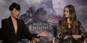 EXCL – Macchine Mortali: Hera Hilmar e Jihae ci parlano del film!