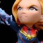 Captain Marvel: ecco la figure Q-Figs della supereroina