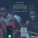 Black Panther: ecco l'enorme cartellone apparso per le strade di Hollywood che ricorda le nomination agli Oscar