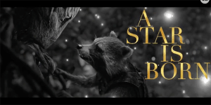 A Star is Born incontra Avengers: Rocket Raccoon canta Maybe It's Time in un divertente video mash-up