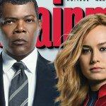 Captain Marvel: il cinecomic con Brie Larson in copertina su Entertainment Weekly, ecco delle nuove immagini