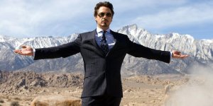 robert downey jr iron man banner slide