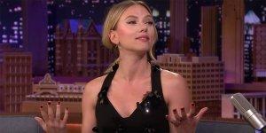 Avengers: Endgame Scarlett Johansson slide