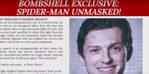 Spider-Man viene nuovamente smascherato dal reportage del Daily Bugle