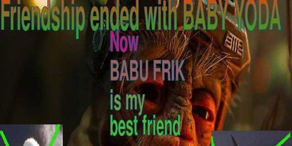 Babu Frick Baby Yoda