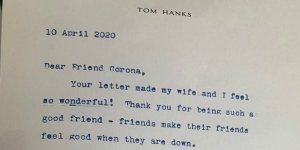 tom hanks scrive una lettera a un bambino bullizzato
