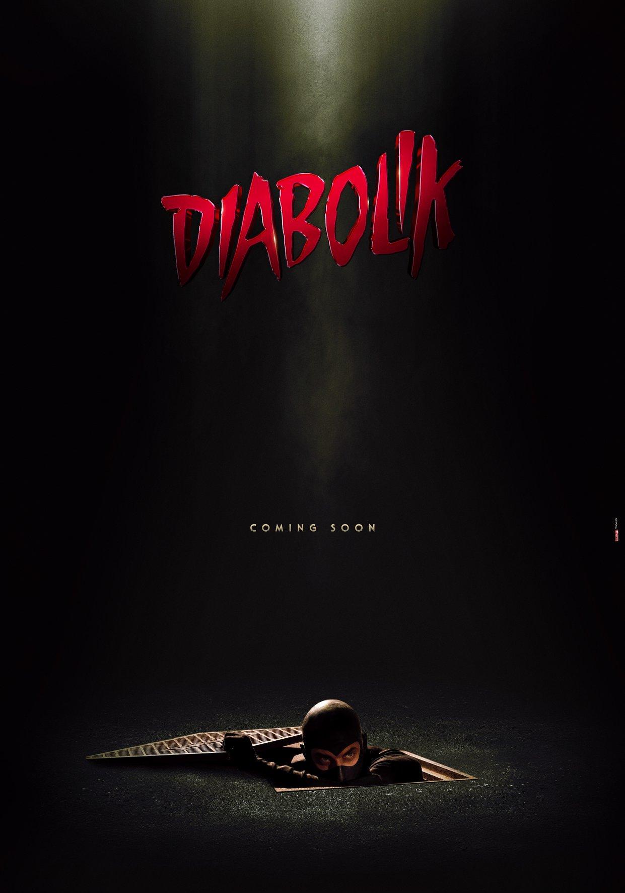 Diabolik - Il poster