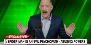 jk simmons j jonah jameson spider-man