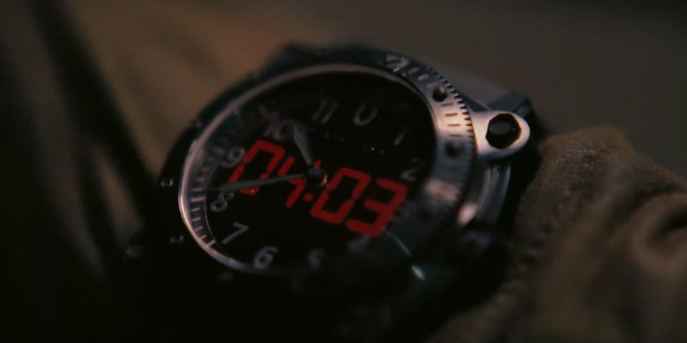 tenet dettagli sul film dallo spot orologio