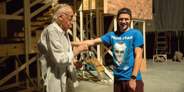 tom holland stan lee spider-man
