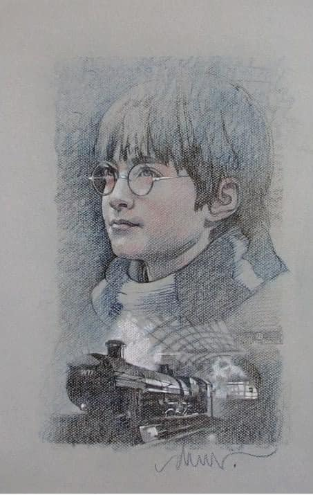 a dessiné struzan anniversaire harry potter