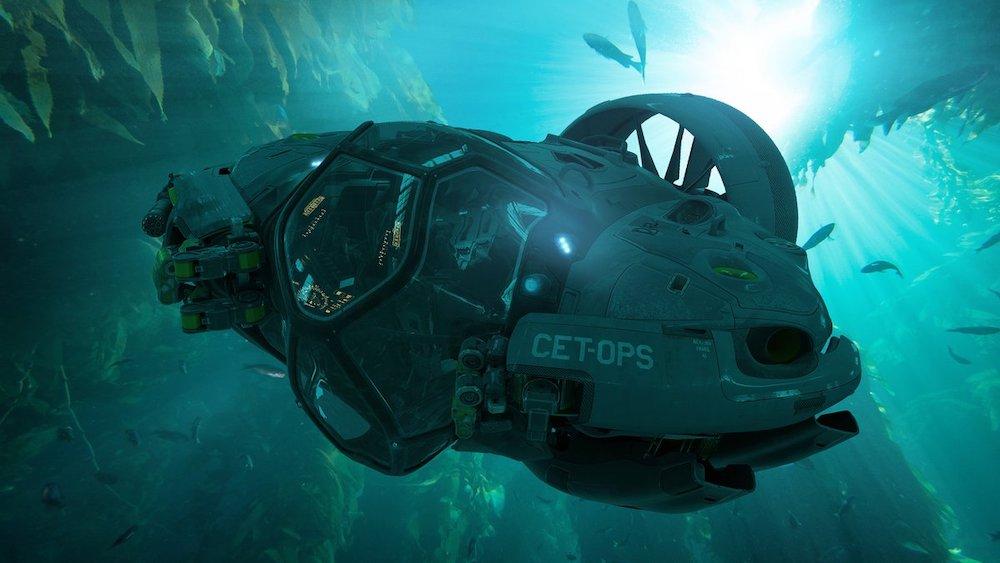 avatar 2 - immagine del crabsuit