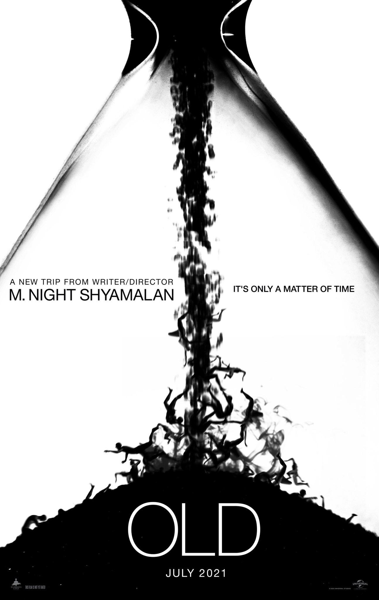 old m night shyamalan poster