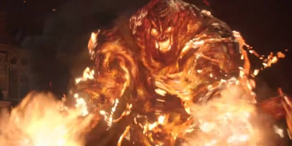 spider-man far from home molten man