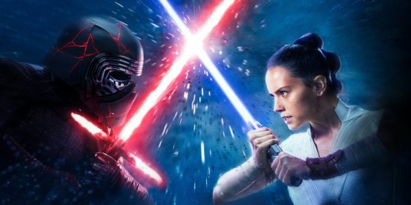 star wars l'ascesa di skywalker rey kylo ren