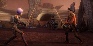 """Star Wars Rebels 3: una clip e le immagini dell'episodio """"Trials of the Lightsaber"""""""