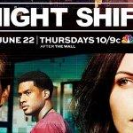The Night Shift: la locandina ufficiale della quarta stagione
