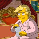 I Simpson: Donald Trump è in crisi in una nuova scena in anteprima