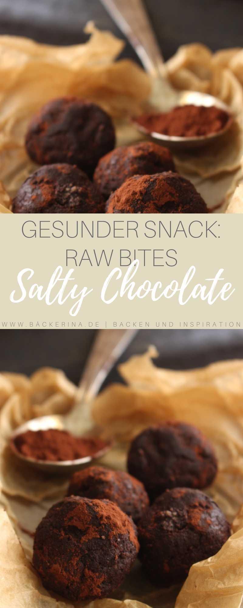Raw Bites Salty Chocolate