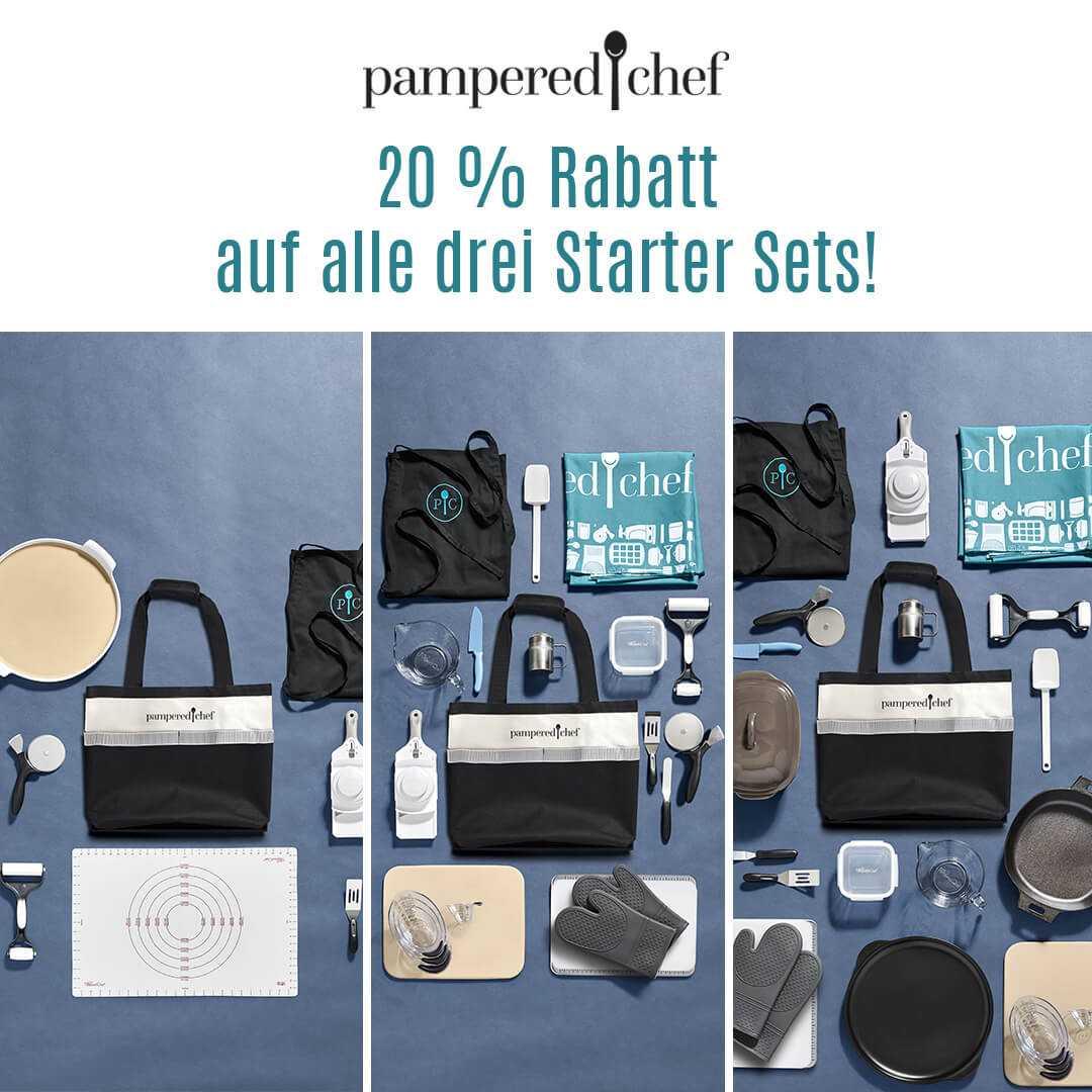Pampered Chef Angebot Starter Sets