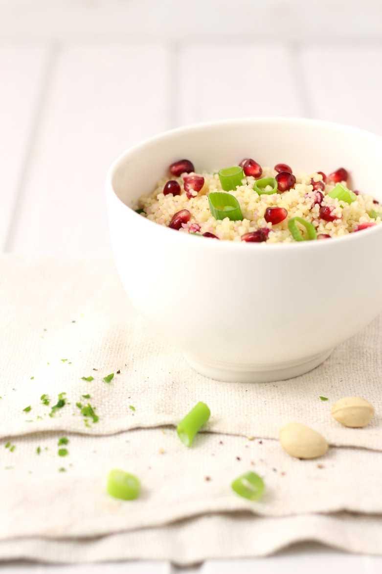 Couscous für orientalisches Fondue