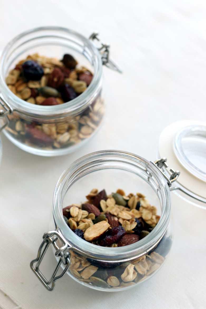 Kürbiskern-Müsli mit Cranberries