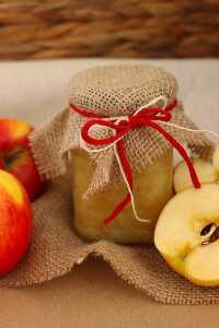 Apfelmus ohne Zucker   bäckerina.de