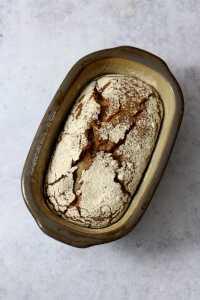 Dinkel Roggenbrot ohne Hefe   bäckerina.de