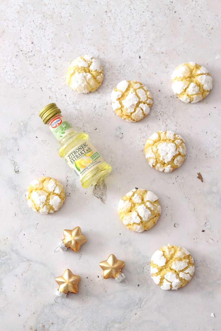 Zitronen Amaretti Rezept | bäckerina.de
