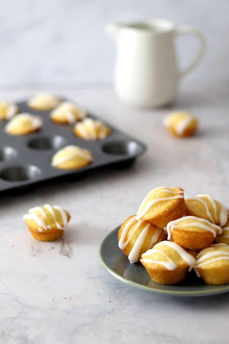 Minimuffins Zitrone | bäckerina.de