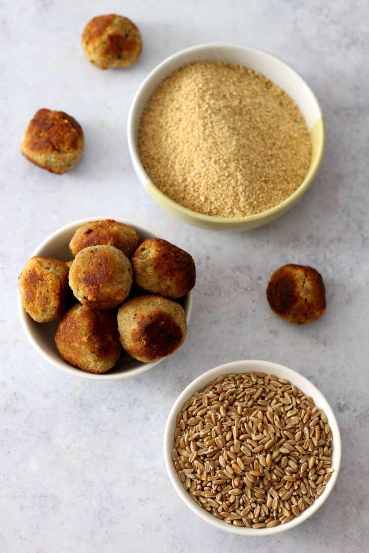 Brotfrikadellen Brot Resteverwertung | bäckerina.de