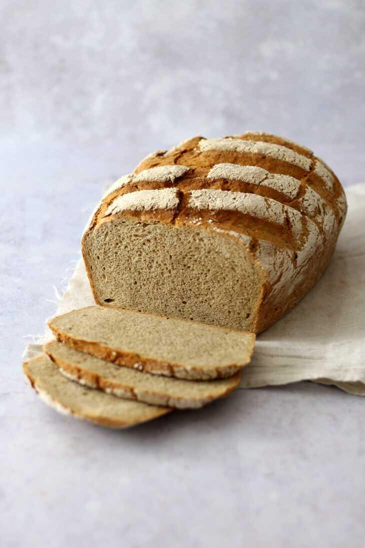 Einfaches Landbrot Rezept | bäckerina.de