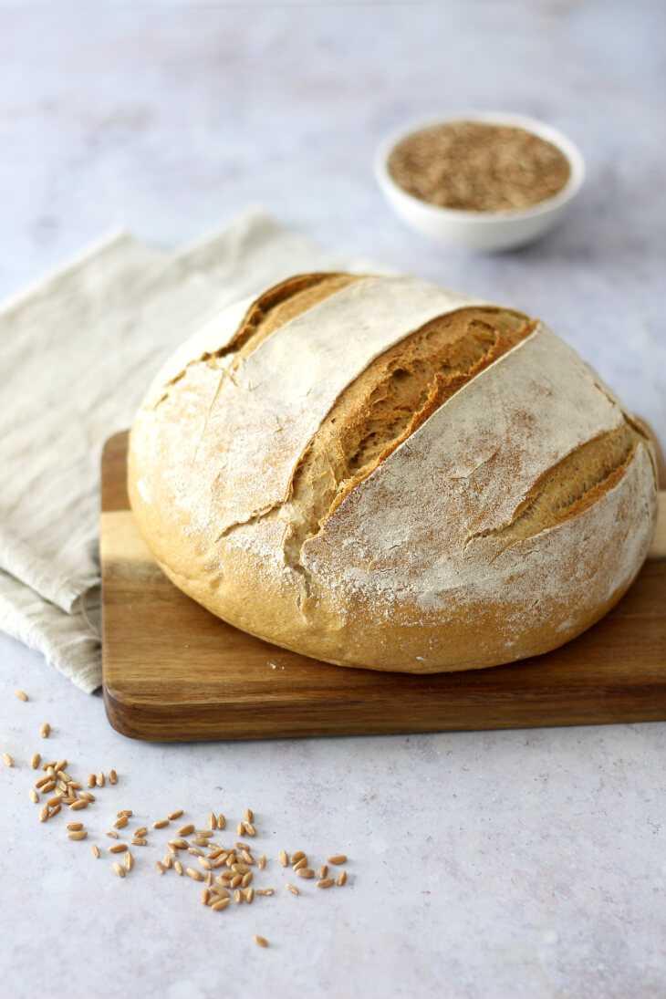 Weizenbrot mit Sauerteig | bäckerina.de