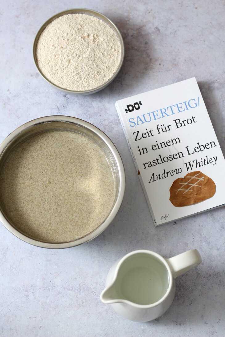Sauerteig ohne Füttern | bäckerina.de