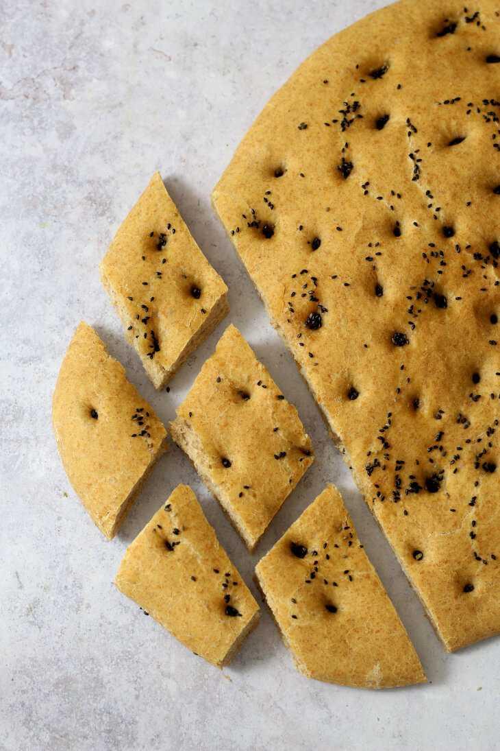 Vollkorn Fladenbrot   bäckerina.de