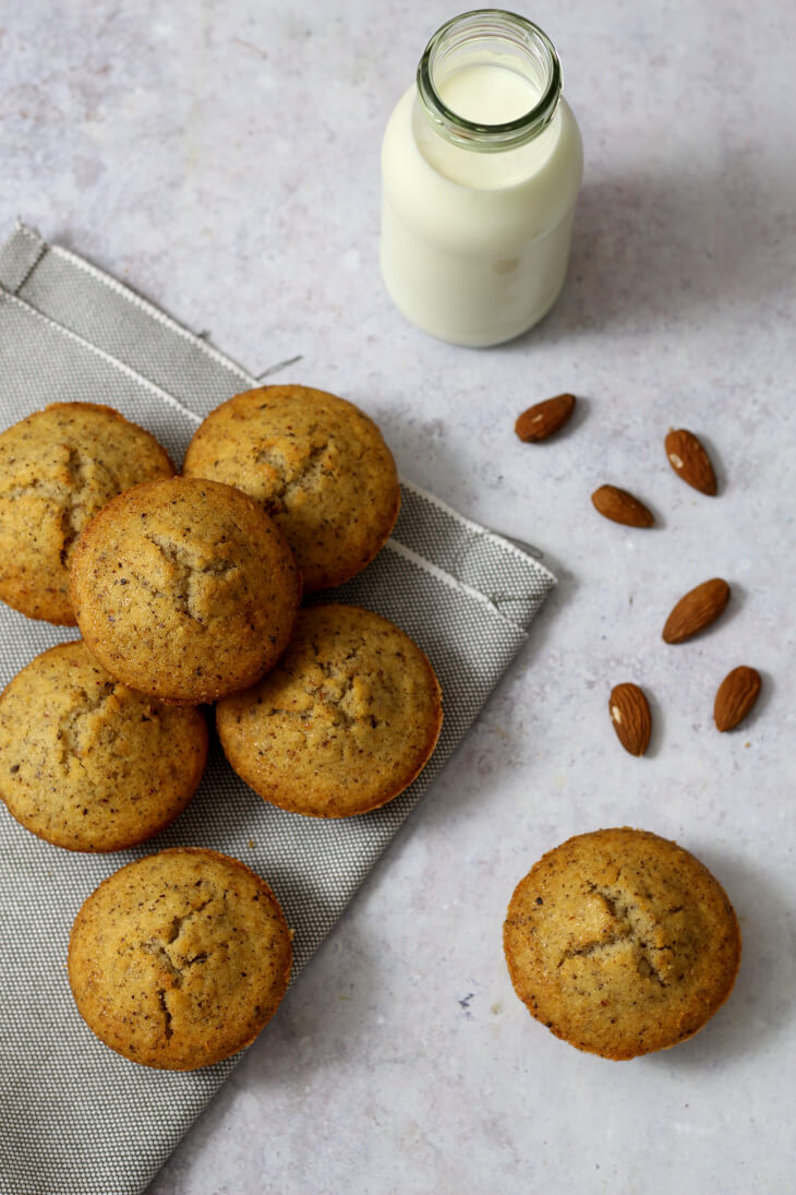 Nussmuffins Rezept einfach | bäckerina.de