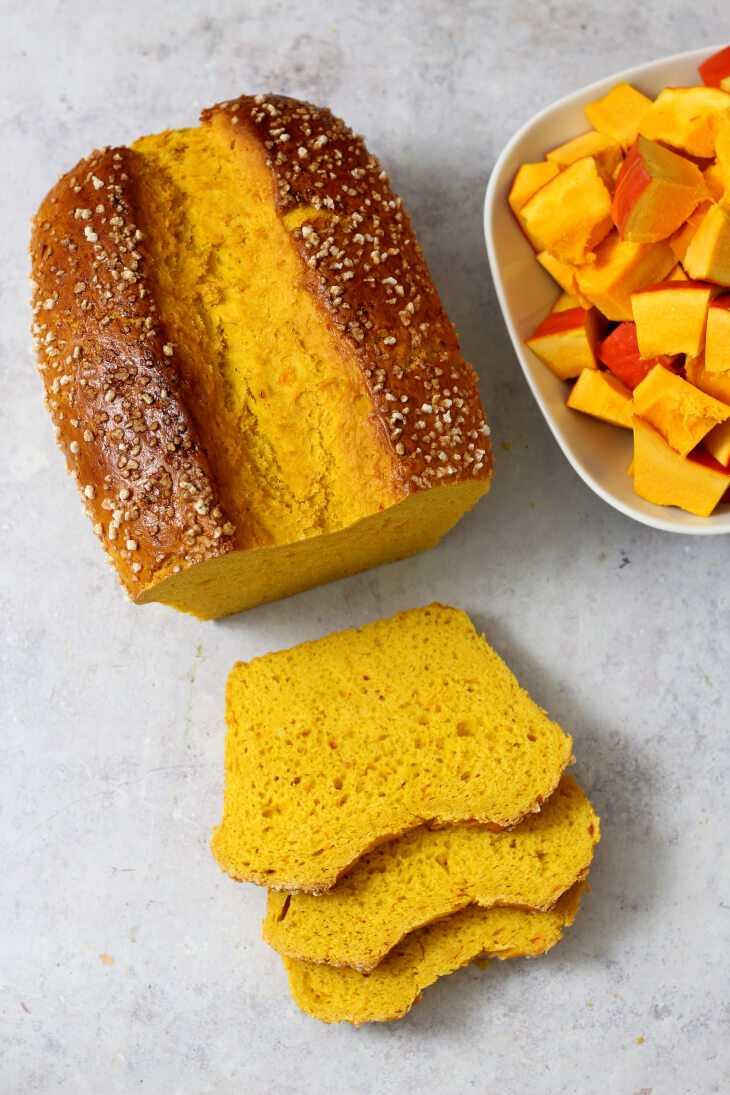Kürbisstuten Rezept - süßes Kürbisbrot | bäckerina.de