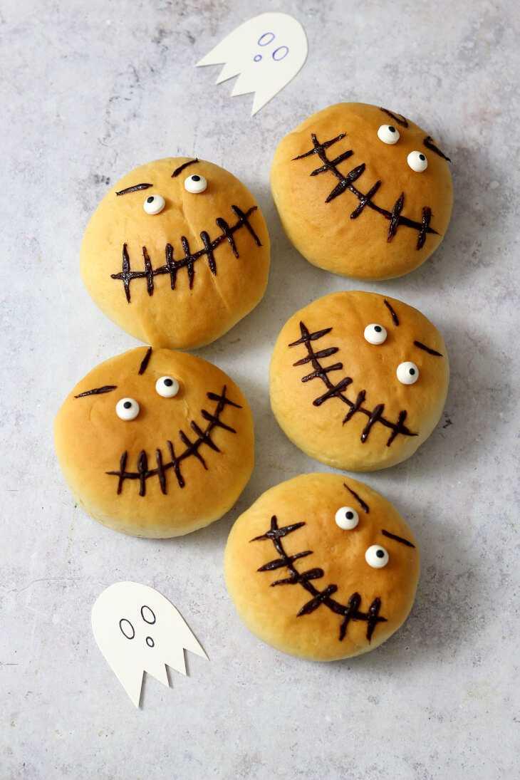 Halloween Brötchen Rezept   bäckerina.de