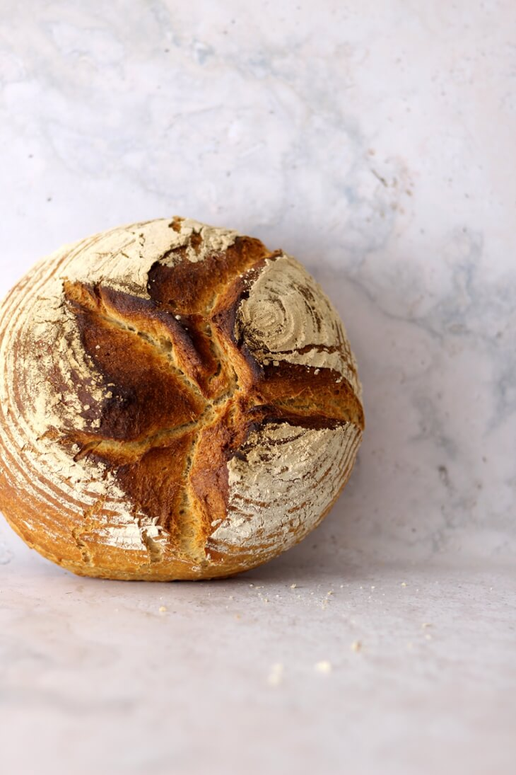 Einfaches Mischbrot | bäckerina.de