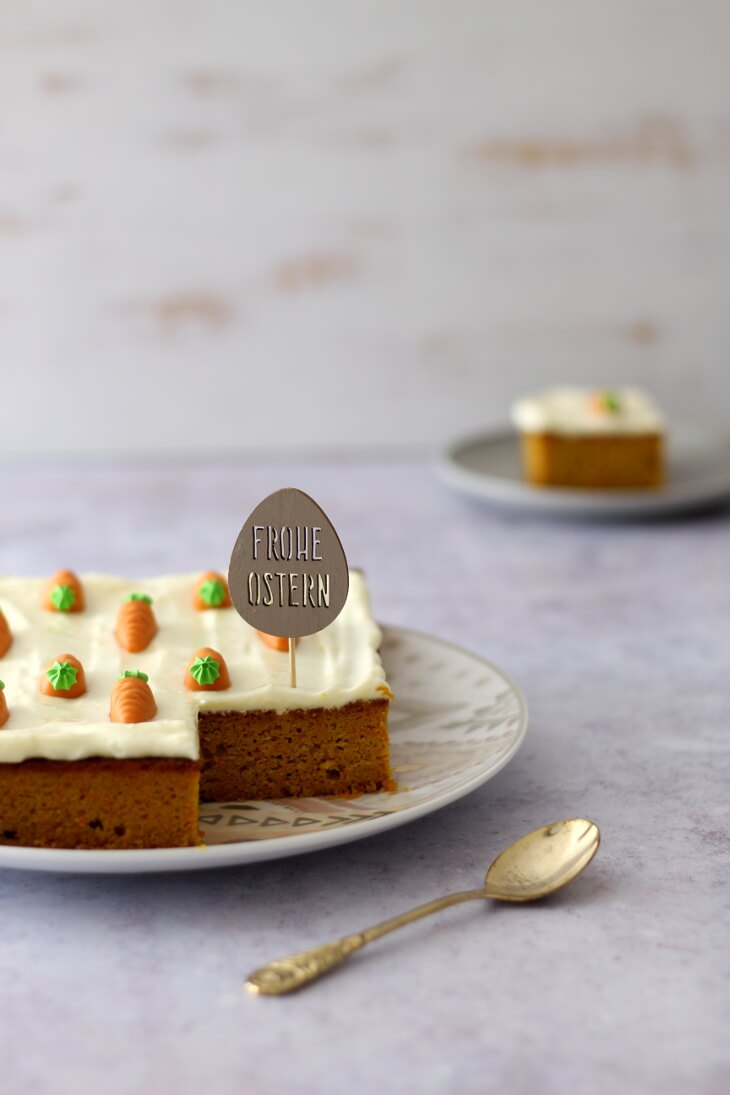 Karottenkuchen ohne Mehl | bäckerina.de