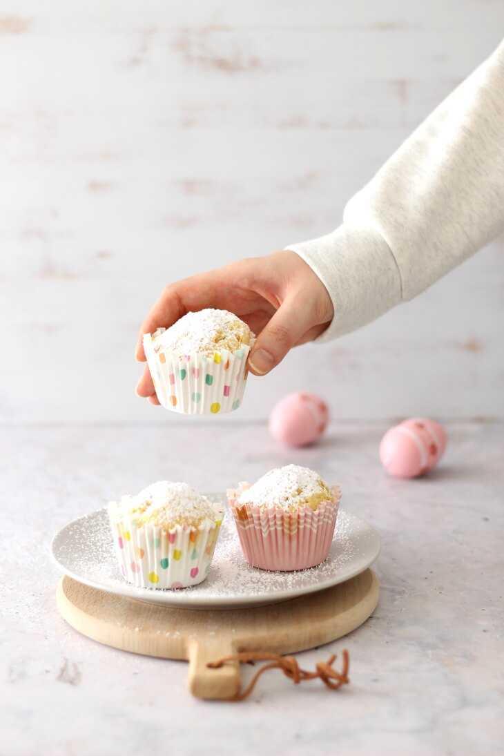 Joghurtmuffins mit Vanille | bäckerina.de