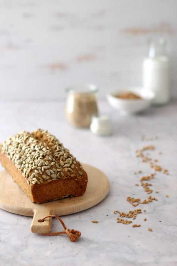 Dinkel Körnerbrot Thermomix Rezept   bäckerina.de
