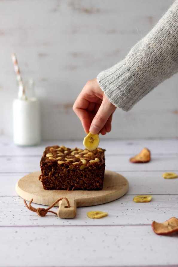 Cashew Bananenbrot Thermomix | bäckerina.de