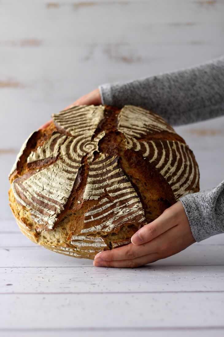 Kartoffelbrot ohne Hefe | bäckerina.de