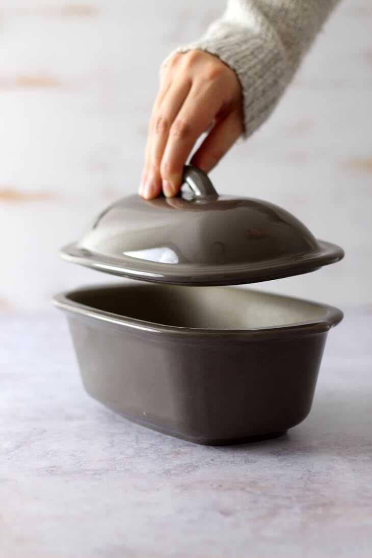 Stoneware von Pampered Chef Handhabung