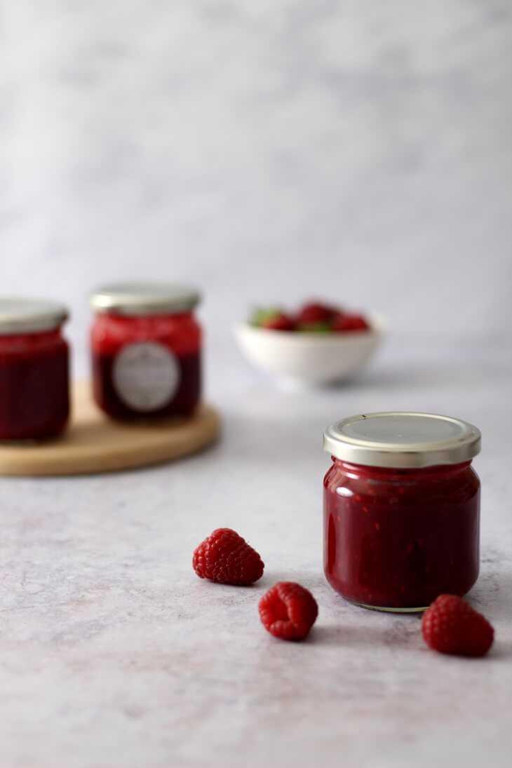 Erdbeer Himbeer Marmelade | bäckerina.de