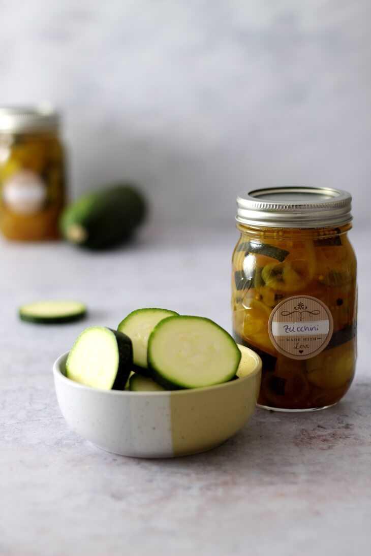 Eingelegte Zucchini | bäckerina.de