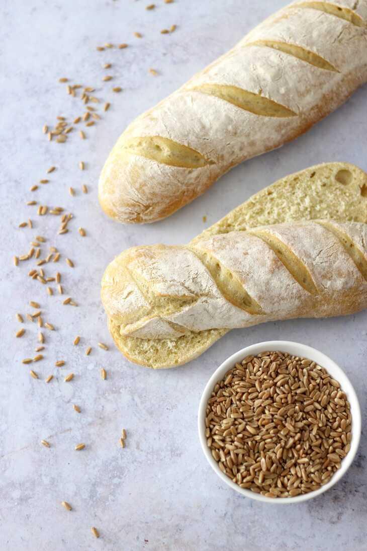 Dinkelstangen Rezept | bäckerina.de
